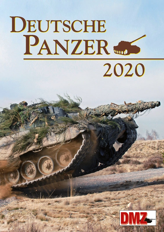 Deutsche Panzer in Farbe 2020 - Kalender