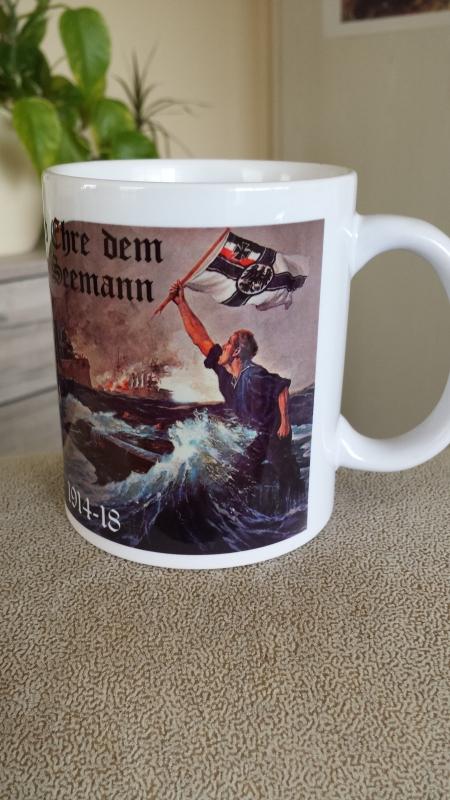 Ruhm und Ehre dem Deutschen Seemann - 4 Tassen