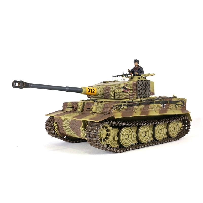 1/24 PzKpfw VI Tiger Späte Ausführung IR 2.4 GHz