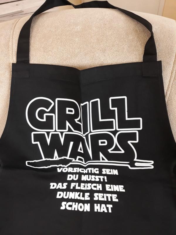 Grill WARS - Grillschürze/Kochschürze