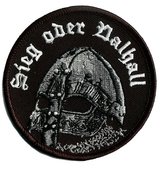 Sieg oder Valhall - Aufnäher