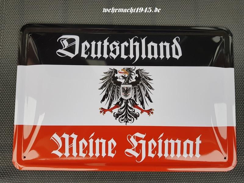 Deutschland - Meine Heimat - Blechschild