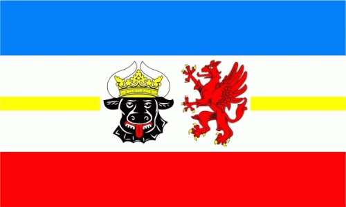 Mecklenburg-Vorpommern - Fahne 90x60 cm