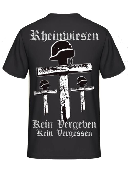 Rheinwiesen - Kein Vergeben, kein Vergessen - T.Shirt Rückemdruck