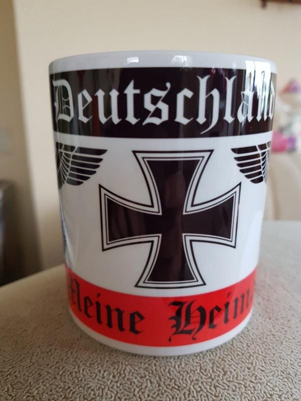 Deutschland, meine Heimat III - 4 Tassen