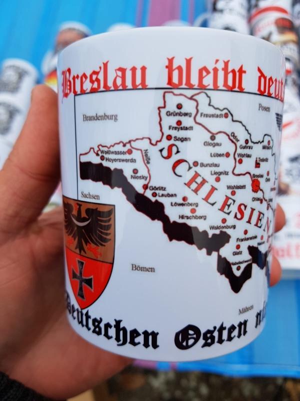 Breslau bleibt deutsch! Vergesst den Deutschen Osten nicht! - 4 Tassen