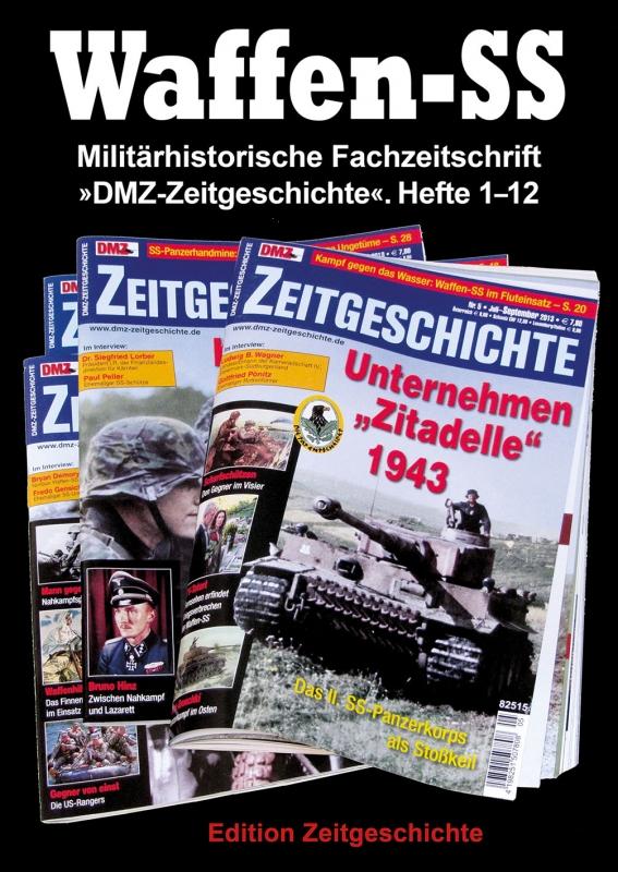 Waffen-SS - DMZ-Zeitgeschichte - Hefte 1-12 - Sammelband