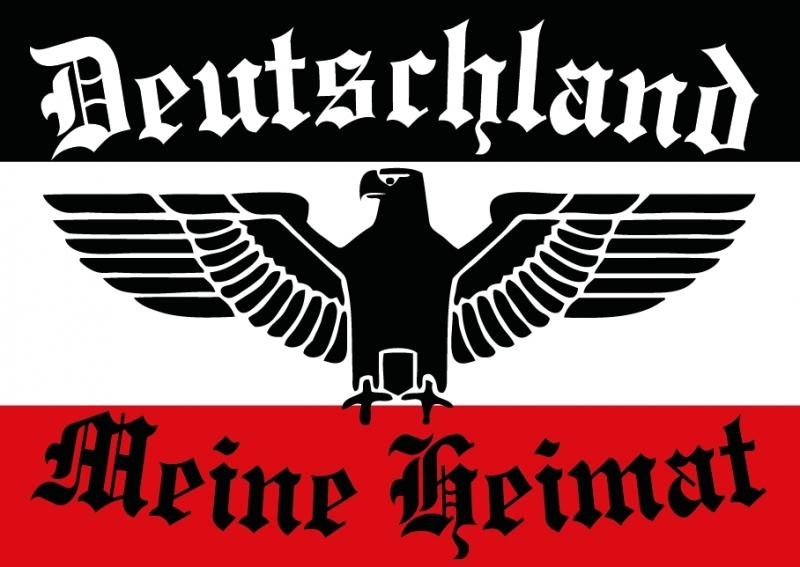 Deutschland - Meine Heimat II - 10 Aufkleber