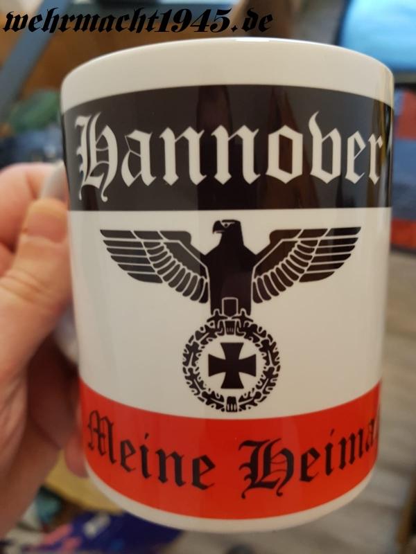 Hannover(Wunschname möglich) - Meine Heimat - 4 Tassen(Rundumdruck)