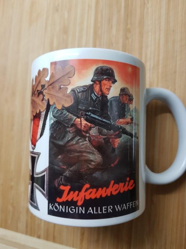 Infanterie - Königin aller Waffen - So wie wir kämpfen, arbeite du für den Sieg - Tasse