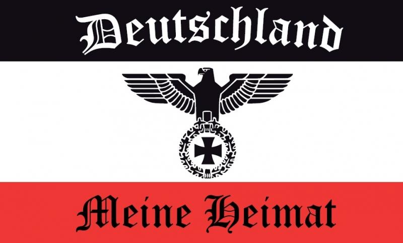 Deutschland, Meine Heimat - 10 wasserfeste Aufkleber