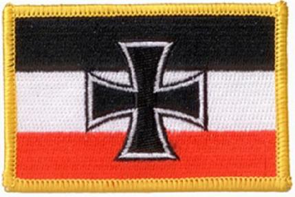 Reichskriegsflagge 1933-1935 Gösch - Aufnäher