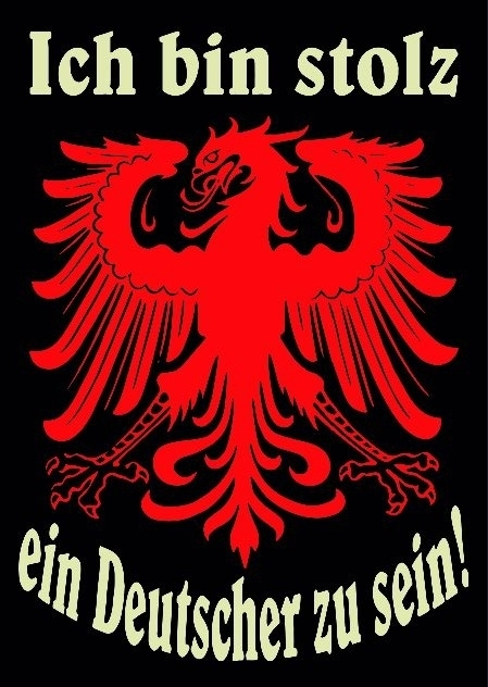Ich bin Stolz ein Deutscher zu sein - 10 Aufkleber