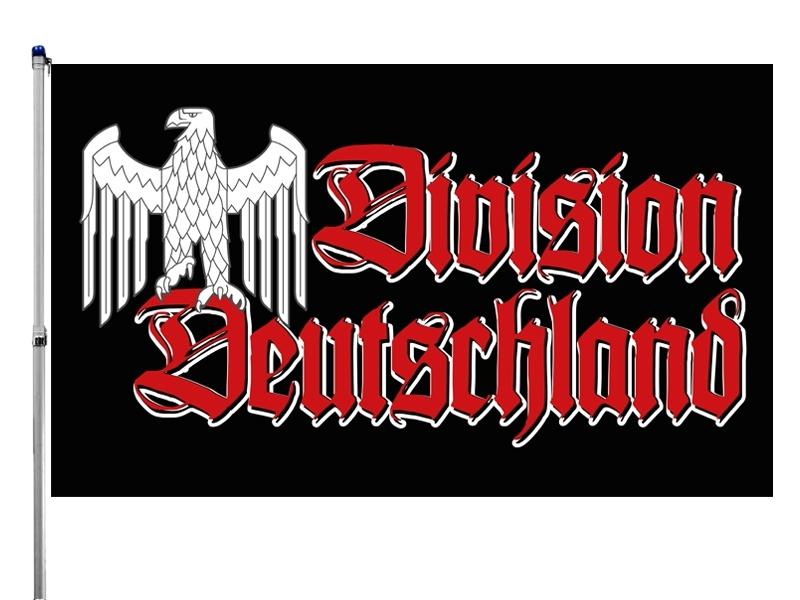 Division Deutschland Reichsadler - Fahne 150x90 cm