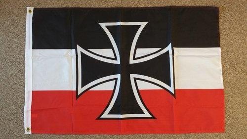 Reichskriegsflagge 1933-1935 - Fahne/Flagge 30x45 cm