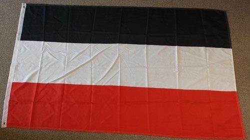 Deutsches Reich - schwarz/weiss/rot - Fahne/Flagge 30x45cm