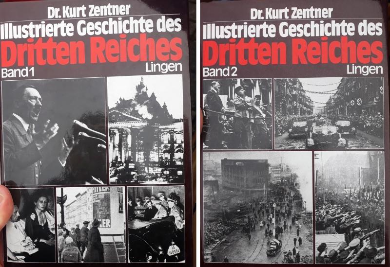 Illustrierte Geschichte des Dritten Reiches - 2 Bände(Zustand wie neu)