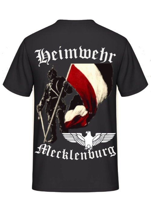 Heimwehr Mecklenburg Rückendruck- T-Shirt