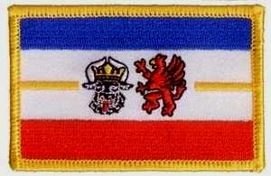 Mecklenburg-Vorpommern - Aufnäher