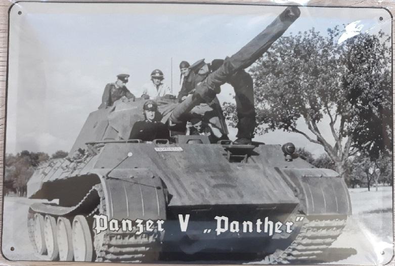 Panzerkampfwagen V Panther - Blechschild