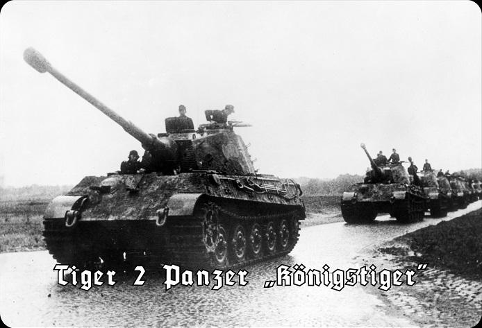 Tiger II - Panzerkampfwagen VI Königstiger 1944 - Blechschild