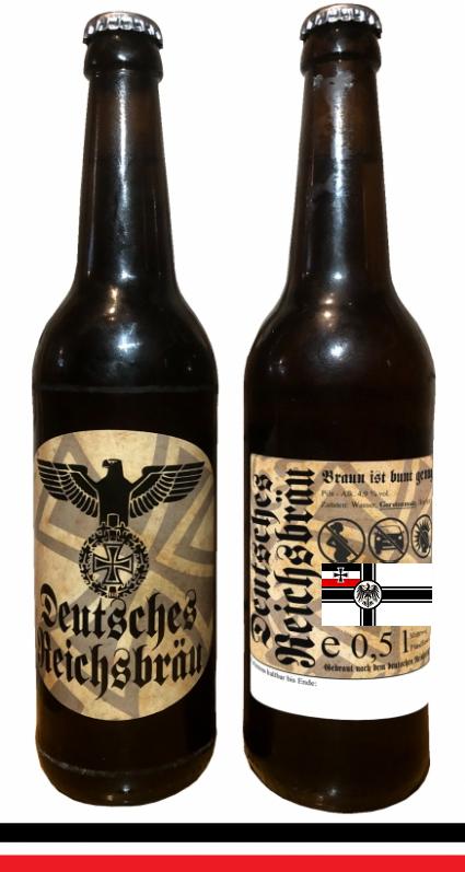 Reichsbräu - 1 leere Flasche inkl. 0,08€ Pfand