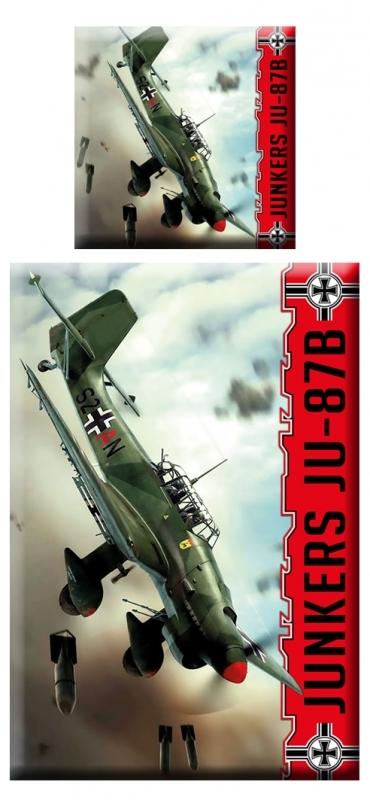 Sturzkampfbomber Ju 87 Stuka - Mikrofaser-Bettwäsche