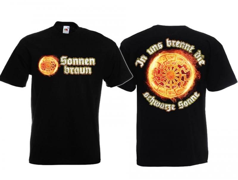 Schwarze Sonne II - T-Shirt