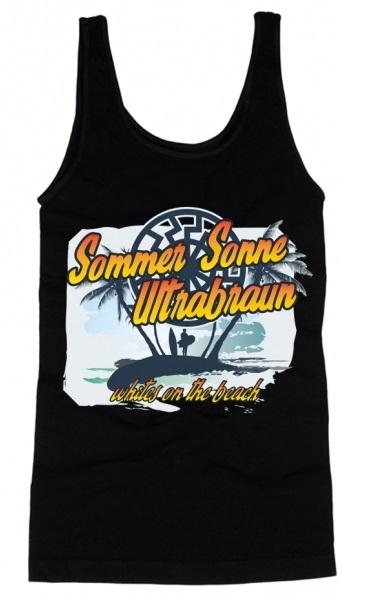 Brauner Sommer - Whites on the Beach - Muskel-Shirt