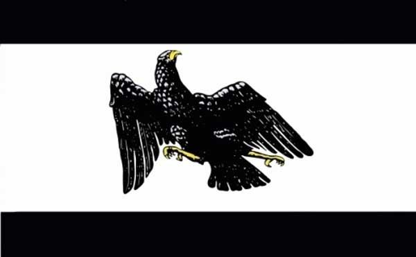 Preussen Dienstflagge des Freistaats Preußen 1922-1935 - Fahne/Flagge 150x90cm