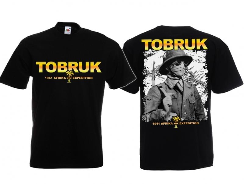 Afrika Korps - T-Shirt schwarz