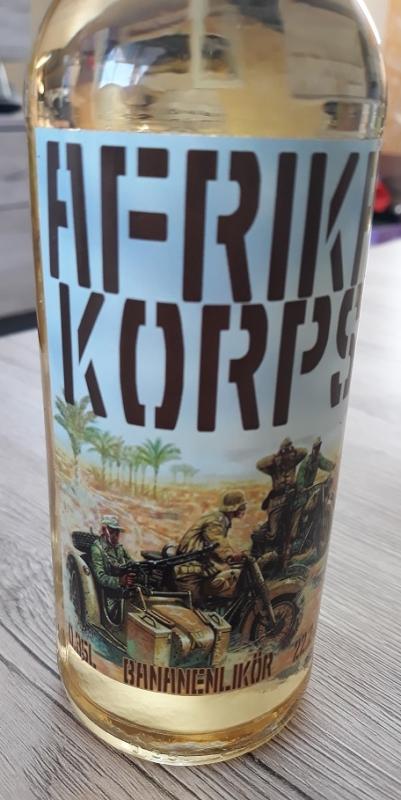 Erwin Rommels Afrika Korps - Bananen-Eierlikör