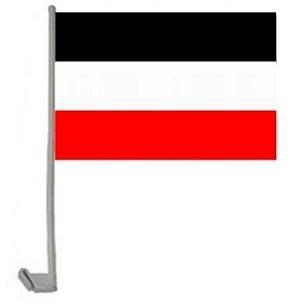 Deutsches Reich - schwarz/weiss/rot - Autoflagge 30x45cm