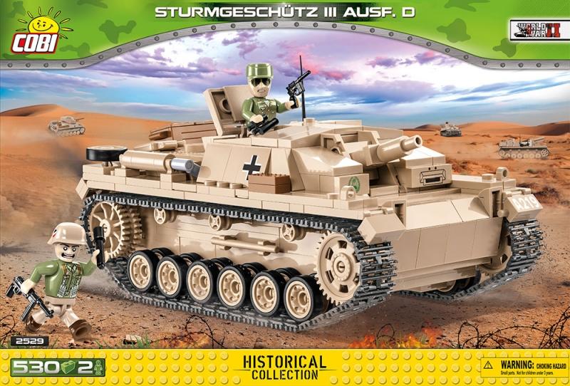 Cobi 2529 Sturmgeschütz StuG III D - Bausatz