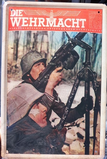 Die Wehrmacht - Blechschild