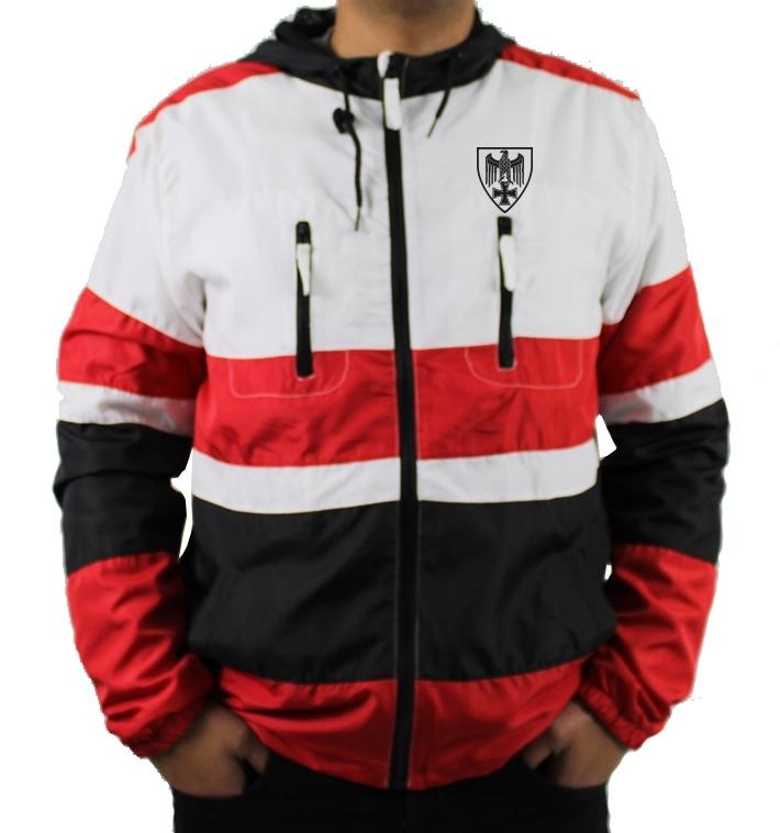 Schwarz-Weiss-Rot - Jacke