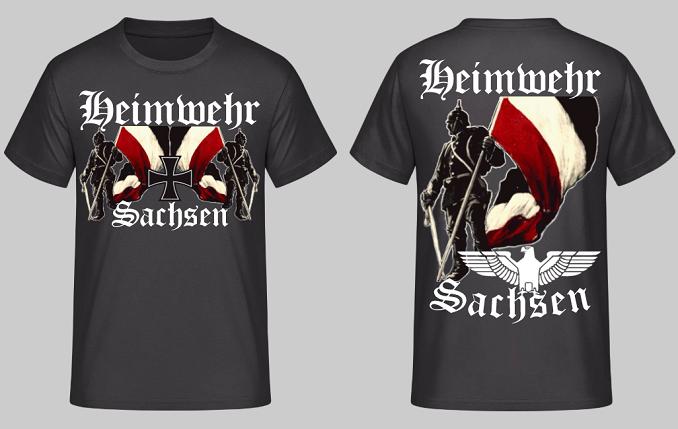 Heimwehr Sachsen - T-Shirt