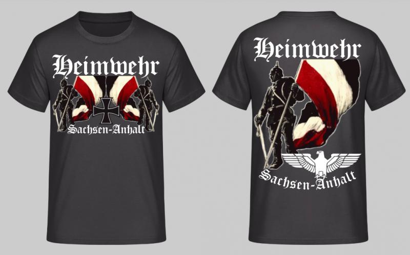 Heimwehr Sachsen-Anhalt - T-Shirt