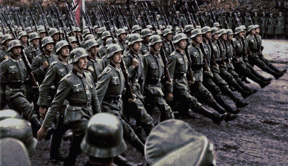 Wehrmacht Parade - Poster 60x35cm
