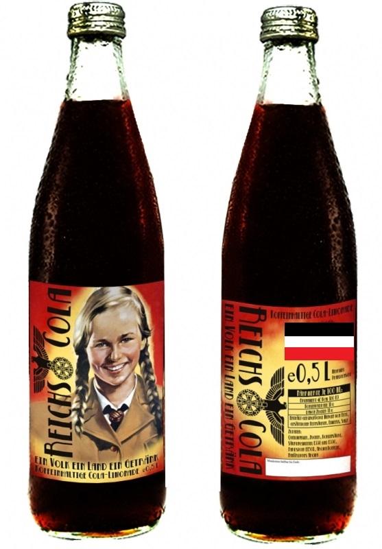 Deutsche Cola des Deutschen Reiches - 1 Flasche - inkl. 0,08€ Pfand