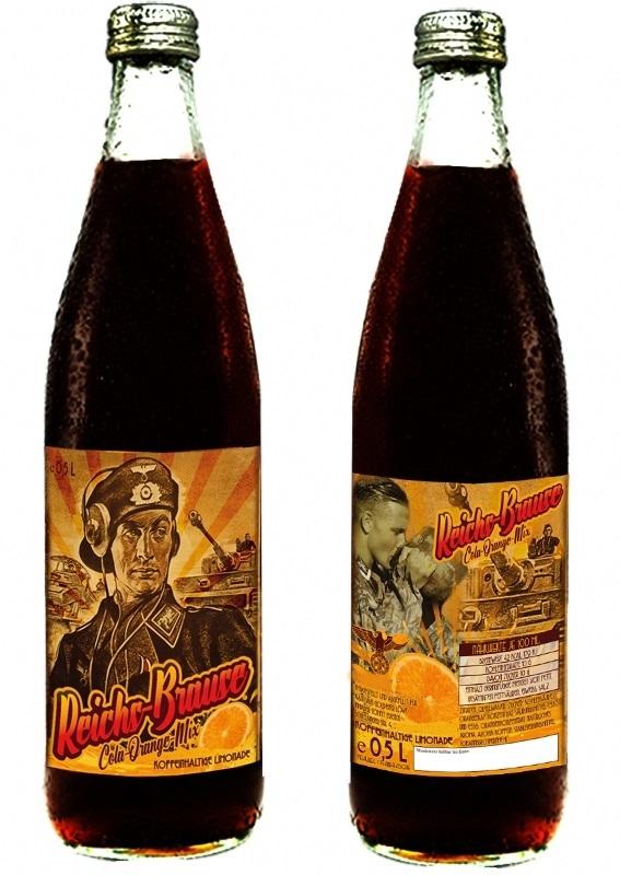 Panzer-Brause des Deutschen Reiches Cola-Orange - 1 Flasche - 2,99 € inkl. 0,08€ Pfand