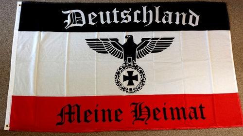 Deutschland Meine Heimat - Fahne/Flagge 150x90cm