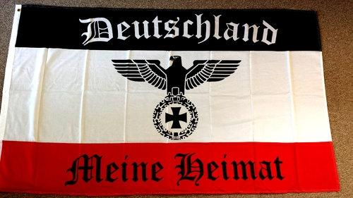Deutschland Meine Heimat - Fahne/Flagge 250x150cm