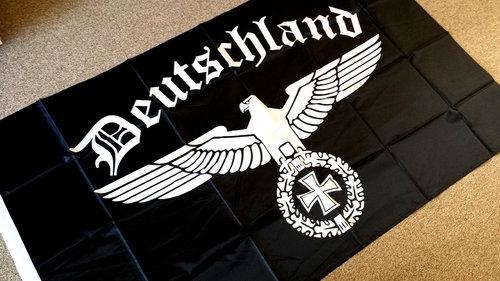 Reichsadler Deutschland - Fahne/Flagge 150x90cm