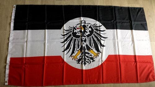 Deutsches Reich Kolonialamt - Fahne/Flagge 90 x 150 cm