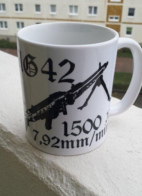 MG 42 1500 x 7,92mm pro Minute - 4 Tassen (Rundumdruck)