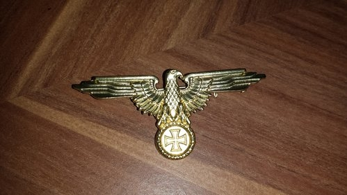 Reichsadler - Anstecker - Farbe Gold