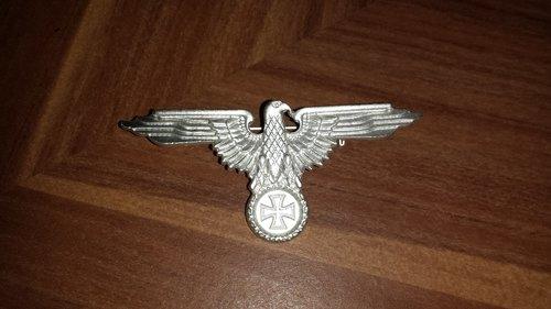 Reichsadler - Anstecker - Farbe Silber