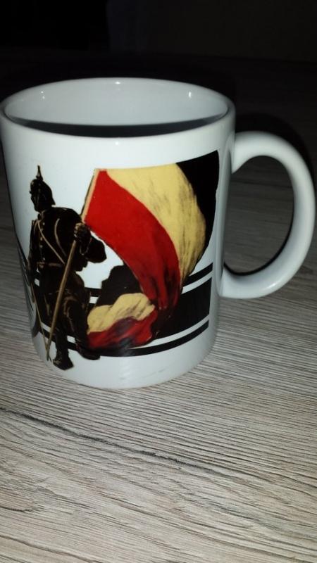 Reichskriegsflagge Ehrenwache - Tasse(Rundumdruck)
