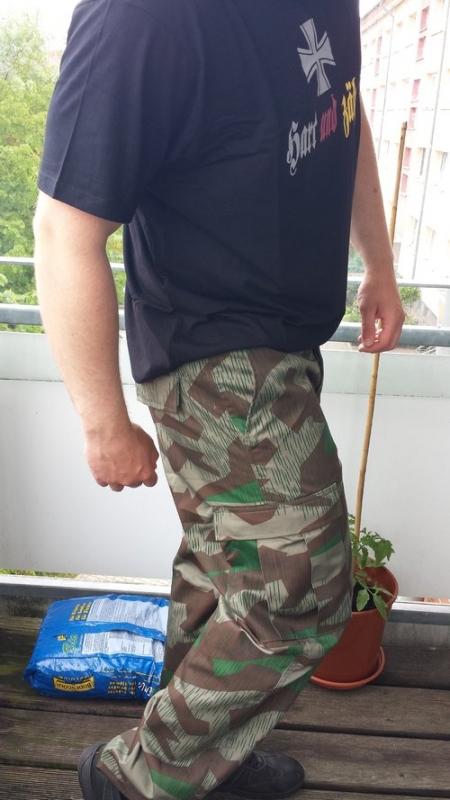 Wehrmacht Splittertarn Hose